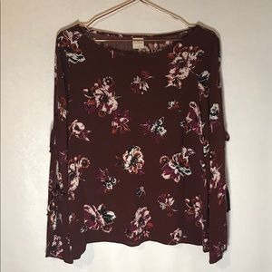 Kaileigh for Stitch Fix floral blouse